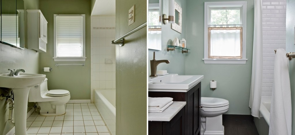 Hutchinson Bathroom Remodel Remodeling Services Strawn Contracting - Bathroom expansion before and after